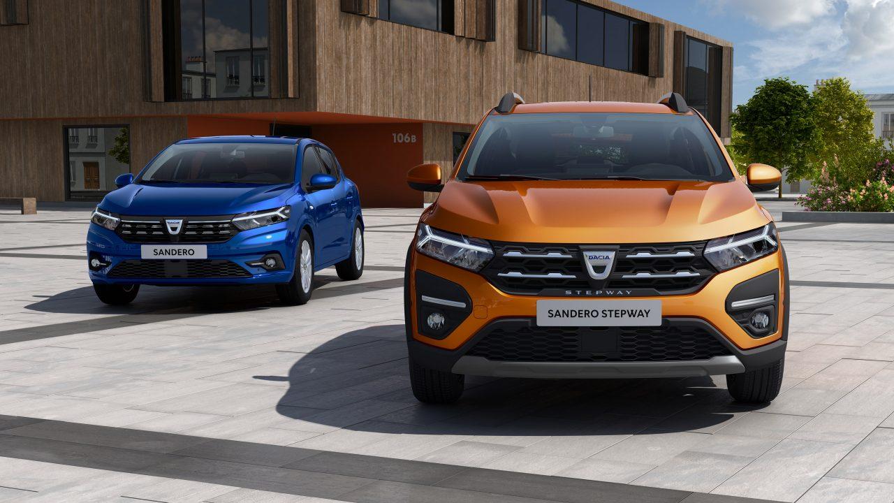 Dacia Sandero en Dacia Sander Stepway