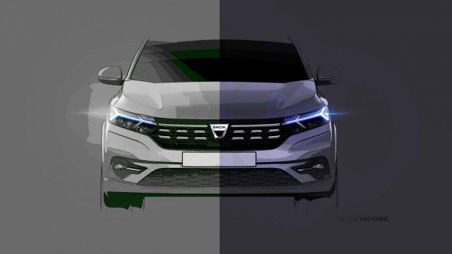 Schets Dacia Sandero