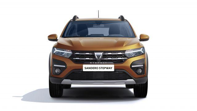 Studiobeeld Dacia Sandero Stepway vooraanzicht