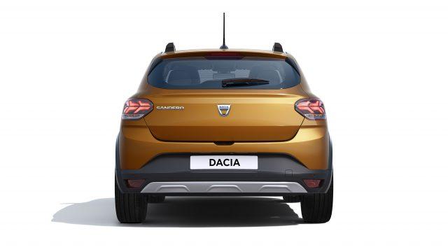 Studiobeeld Dacia Sandero Stepway achter