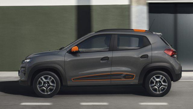 Dacia Spring Electric zijkant