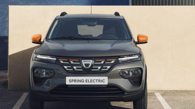 Dacia Spring Electric voorkant