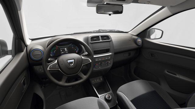Interieur Dacia Spring Electric